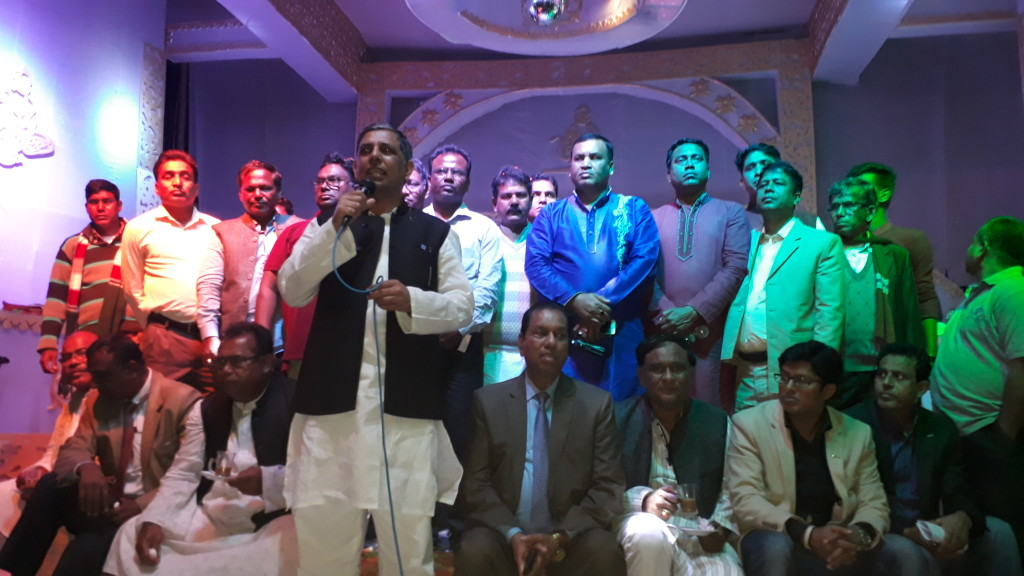 Madaripur Honuman Puja MP Nasim
