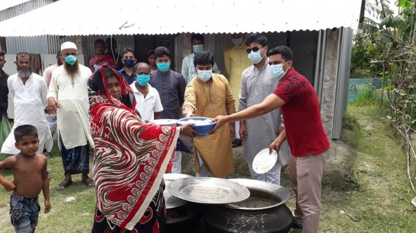Shibchar Eid Food Distribution